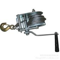 Best Marine Ship Deck Equipment For Trailer , Portable Manual Hand Winch wholesale