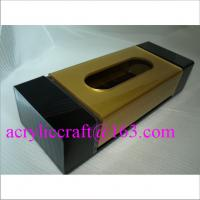 Best Luxury acrylic tissue /  napkin / paper towel box for restaurant and home wholesale