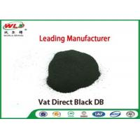 Cheap Vat Direct Black DB Textile Cotton Fabric Dye Chemicals Used In Textile Dyeing for sale