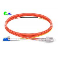 China Mode Conditioning Fiber optic patch cord SC MM - LC SM 3M LSZH Orange For Gigabit Interface Converter on sale