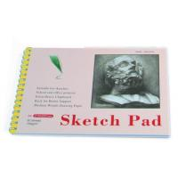 Best White Paper Pencil Sketch Pad Drawing Book , Spiral Sketch Drawing Pad wholesale