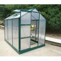 Best sinolily (6X10FT) twin wall greenhouse with top window wholesale