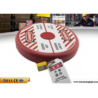 China Anti - Impact Gate Valve LockPlastic Material 10 Inch -13 Inch Large Size on sale
