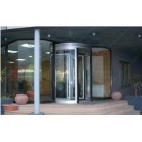 Best 12mm Aluminum Alloy Automatic Revolving Door For Hotel ISO9001 wholesale