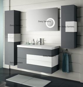 Best High Moisture Resistant MDF Bathroom Vanity Not Easy Deformation For Humid Area wholesale
