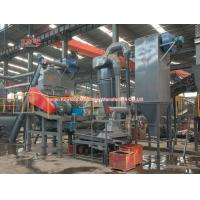 China Industry Waste Tyre Recycling Machine Easy Access Screen With CE Approved on sale