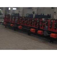 China Carbon Steel Plate C And Z Purlin Roll Forming Machine Auto Changeable and Automatic Controlled By Japan Panasonic PLC on sale