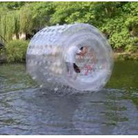 Buy cheap Outdoor Pool Inflatable Water Roller , PVC / TPU Giant Inflatable Rolling Ball from wholesalers