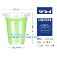 China Environmentally Friendly Dinnerware PLA 8oz Biodegradable Paper Cup With Lid on sale