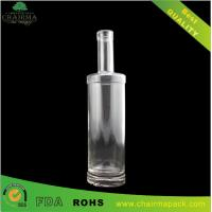 Best Round Transparent Glass Bottle for Vodka wholesale