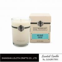 Best Southern Belle / Raspberry Fragrance Natural Scented Candle Chemical Free , Eliminating Odors wholesale