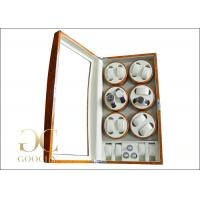 China Battery Operated Watch Winder / Multiple Winding Watch Case Rotating For Women on sale