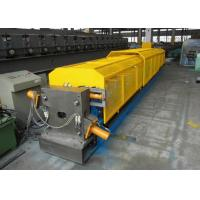 China Durable Full Automatic Downspout Roll Forming Machine With PLC Control on sale