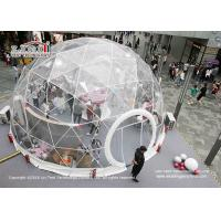 Best Clear Geodesic Dome Tents With Clear Cover For Outdoor Parties And Weddings wholesale