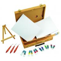 Best Multi Function Art Painting Set Paint Boxes For Artists 39 X 30 X 8cm wholesale