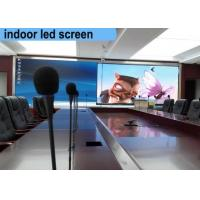 Best Hd Commercial Indoor Led Video Wall Pixel 2.5mm Wall Mounted With No Noise wholesale
