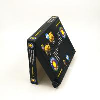 Buy cheap Rigid Packing Paper Box Embossing / Glossy / Matt Lamination Black Color from wholesalers