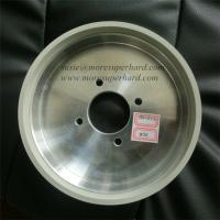 China 6A2 vitrified diamond grinding wheel for tungsten cabide on sale