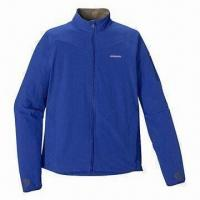 Best Men's 100% Polyester Anti-pilling Microfleece Jacket, Different Colors are Available wholesale