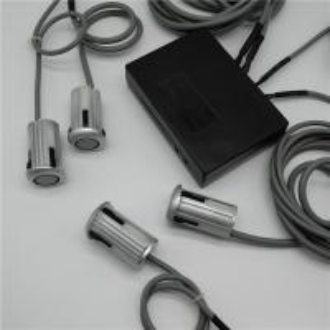 China Voice Alarm Backup Parking Sensor , DC 12 Volt Car Reverse Parking Sensor on sale