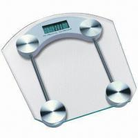 Best Electronic Body Scale with 8mm Tempered Safety Glass Platform and 150kg Maximum Capacity wholesale