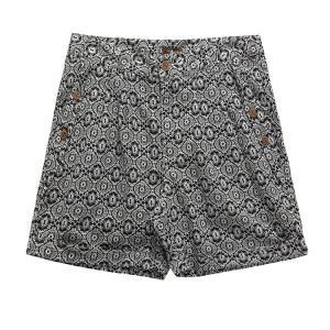 Best Comfortable Cotton linen Printed Loose Short Leg Casual Pants for Women wholesale