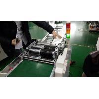China High Efficiency Laser Cut PCB Depaneling Machine With SKD11 Blade on sale