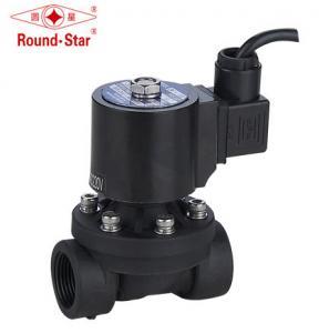 China Waterproof PA66 Plastic Fountain Solenoid Valve , 2 Way Solenoid Valve Ip68 Underwater on sale