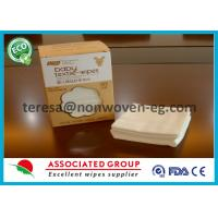 Best Non Woven Disposable Dry Wipes Unscented Highly Absorbent Airlaid White Color wholesale