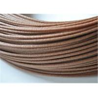 Best Good Bendability Wood Filament For 3D Printing 2.85mm , Dark Brown wholesale