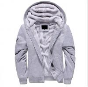 China OEM Zipper Mens Pullover Sweater Long Sleeve Winter Men Fur Hoodie 100% Cotton on sale