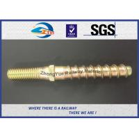 Best Hot Forging Railway Sleeper Screws Double End Special Track Bolt Customized wholesale