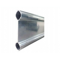 Buy cheap Baffled Double Aluminum Round Pipe With Flange AL-BB from wholesalers