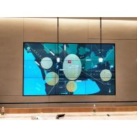 Buy cheap Seamless Narrow Bezel LCD Video Wall HD 4K Resolution display for CCTV center from wholesalers