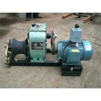 China Power Construction 3 Ton Electric Cable Pulling Winch With Electric Engine on sale