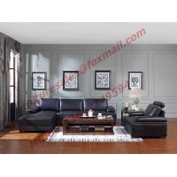 Best Italy Leather Sofa with L-Shape in Wooden Sofa Set wholesale
