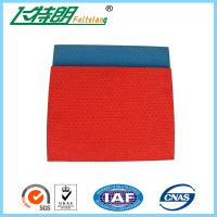 All Weather Running Track Surfaces Pattern System Stadium Rubberised Flooring