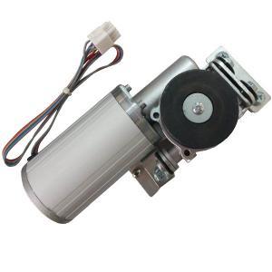 Aluminum shell Automatic Sliding Door Motor Brushless DC Motors High Speed Gear Box