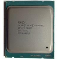 Best E5 - 2670 V2 Intel Xeon 2.5Ghz FCLGA2011 10 - Cores 25 Clock multiplier wholesale
