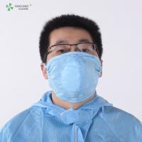 Best AntiStatic Washable Cleanroom 3D dust respirator printed facial Mask design and manufacturer of protective face wholesale
