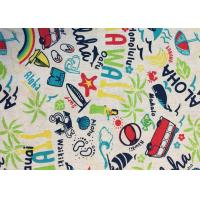 Best Contemporary Novelty Print Fabric , Sportswear / Suit Printing On Cotton Fabric wholesale