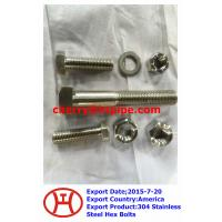 Best 304 Stainless Steel Hex Bolts wholesale