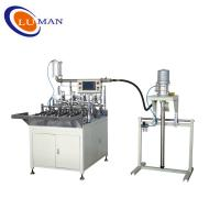 China Full-auto End Cap Gluing Machine small caps for the oil filter on sale