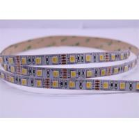 Best 12V DC 5050 RGB LED Strip Lights , 2700K-6500K 620-630NM LED Flex Tape Lighting  wholesale