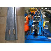 Best Automatic C Purlin Forming Machine , Purlin Making Machine Easy Installation wholesale