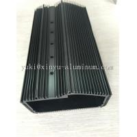 Best Semi Bright Black Anodized Aluminium Box Aluminum Structural Framing With Tapping And CNC Drilling wholesale