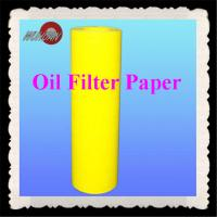 China auto oil filter paper on sale