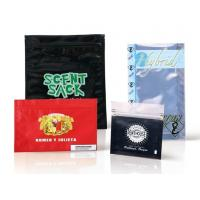 Best Custom design high quality  stading/zipper plastic tobacco pouches wholesale