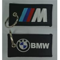 BMW Fabric Embroidered Keychains Straps
