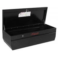 Best Professional Aluminum Truck Tool Boxes Silver / Black Color With Logo Printed wholesale